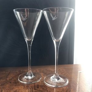 Grey goose martini glass set of two
